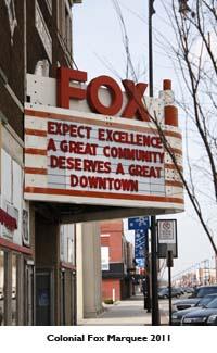 Colonial Fox Theatre Foundation Pittsburg Kansas Revitalization